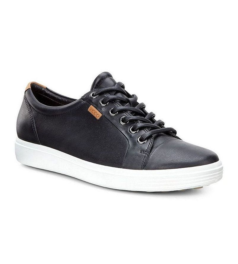 ECCO Soft 7 Leather Lace Up Sneaker
