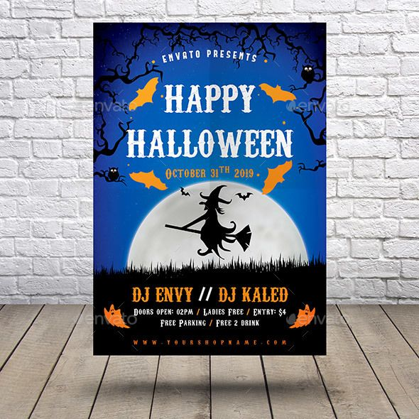 halloween flyer holidays events event flyer pinterest