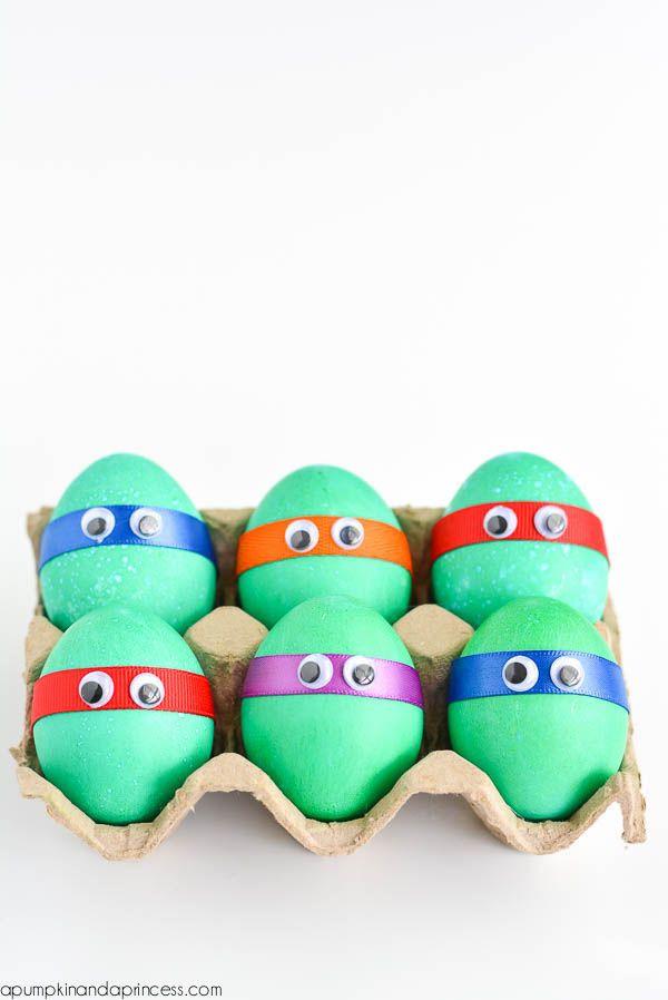 Pascua, ideas para decorar huevos con los niños Easter, Egg and - huevos decorados