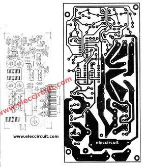CAR DC to DC converter circuit, output +/- 27V to +/-50V