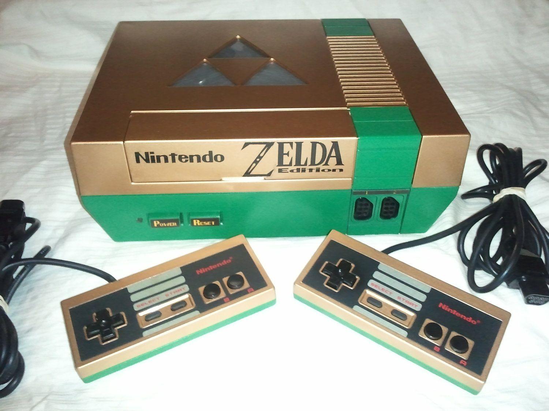 Custom Nintendo NES Zelda Edition RB Nes console