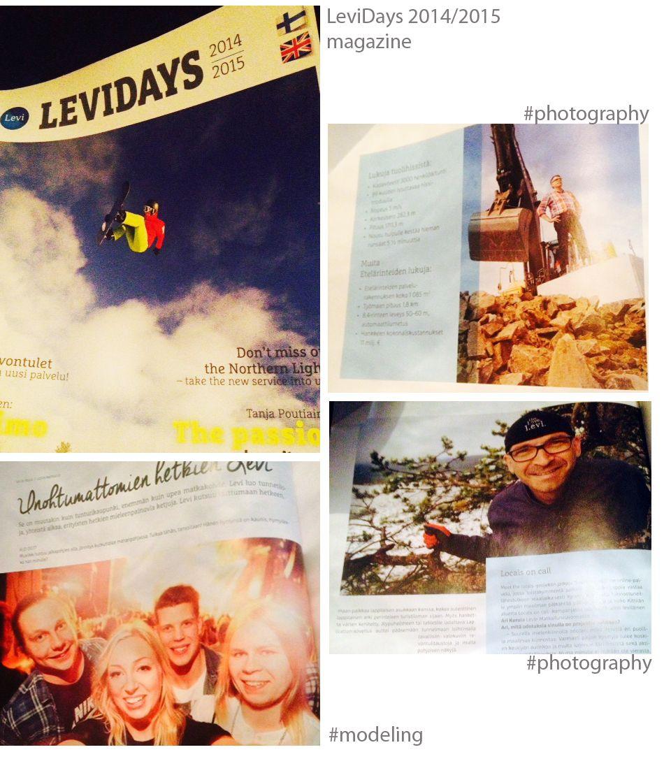 LeviDays 2014-2015 lehteen valokuvaus ja malleilu. // LeviDays season 2014-2015 print magazine participation #photography #marikawork