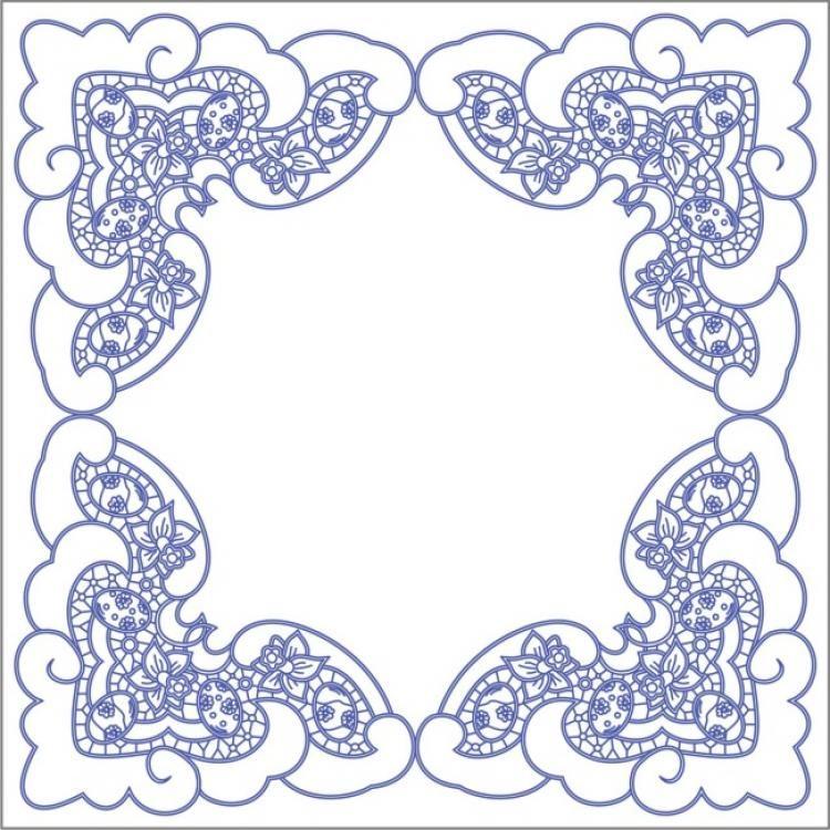 Ubrusy - Vyšívání Beruška | CALADOS ( Richelieu, cutwork ...