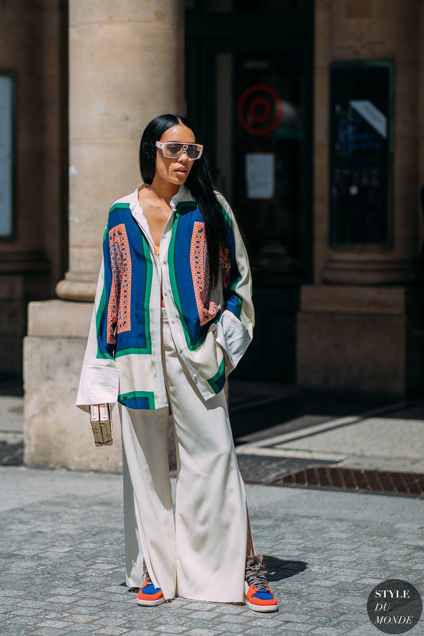 Paris Men's Fashion Week SS 2019 Street Style: Aleali May ...