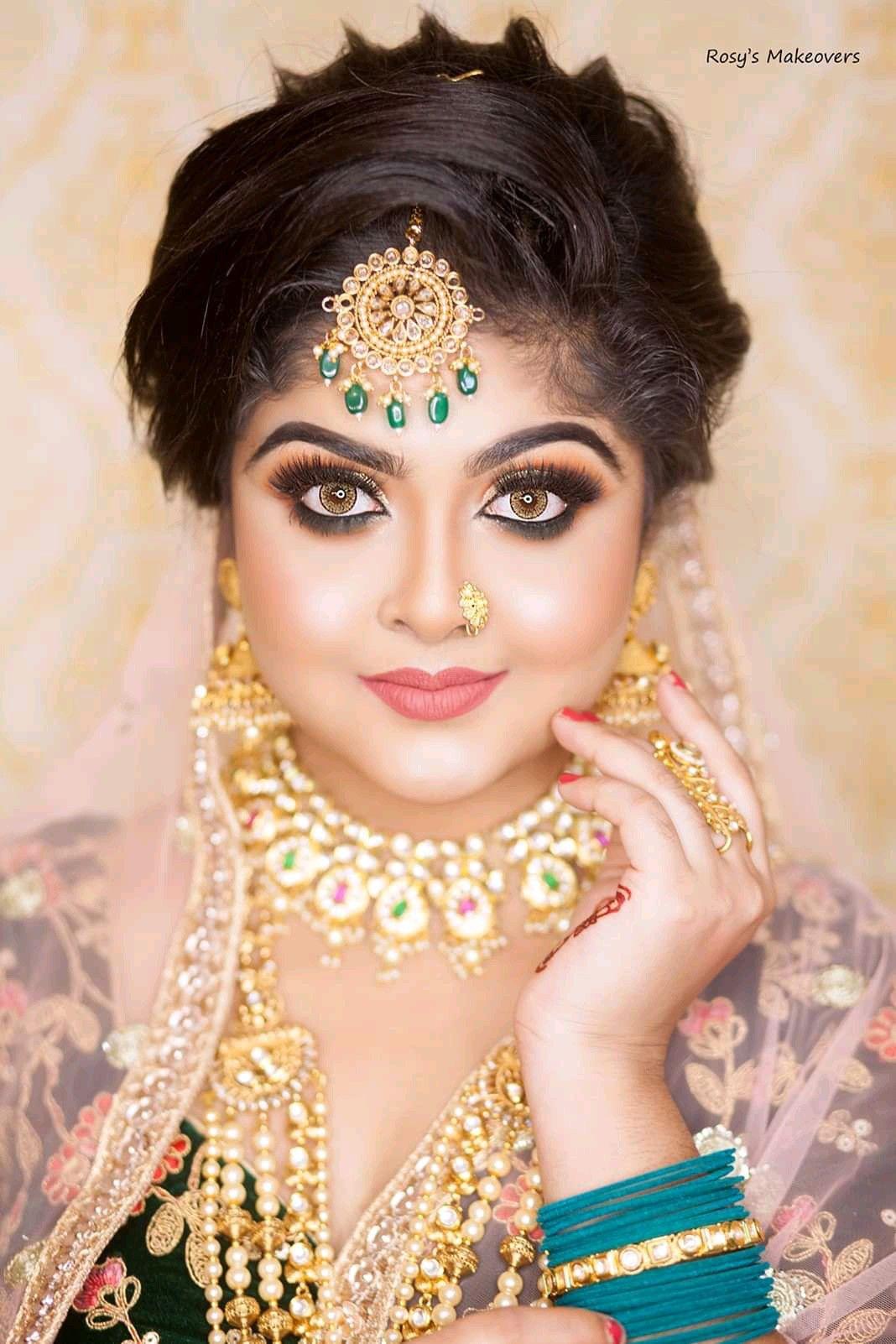 Image by MADHUⓂ️ on bridal makeover Bridal makeover