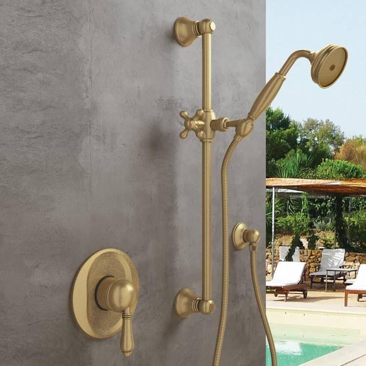 Outdoor Showers Bronze With Images Outdoor Shower Fixtures