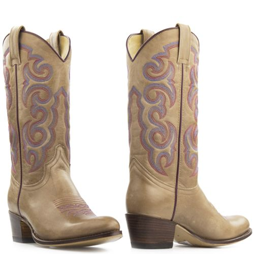 Sendra Boot Ouest Avec Zip Couleur Taupe E2o4RS