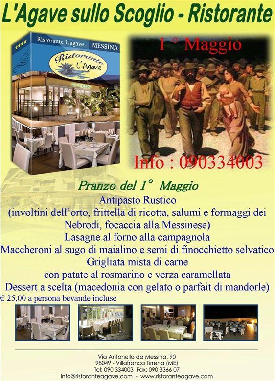 Festeggia con noi...... la Festa dei Lavoratori http://www.ristoranteagave.com/offerte/ #25aprile #1maggio #ristoranti #ristoranteagave #offerte