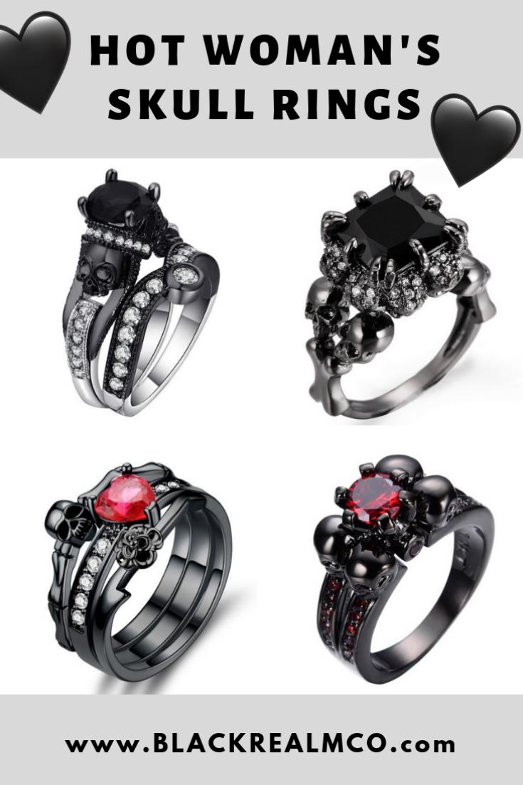 Hot Skull Rings for Woman! Skull ring, Rings for men, Rings