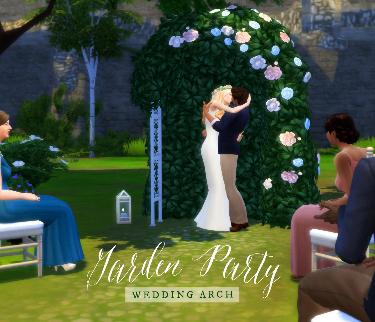 Garden Party Wedding Archthrow Your