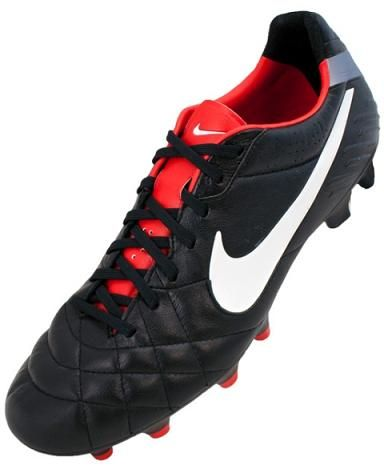 00fd2392d Nike Tiempo Legend in Black Red Leather latest arrival for Nike Fall 2012  Footwear at North American Sports the Soccer Shop in Vancouver BC
