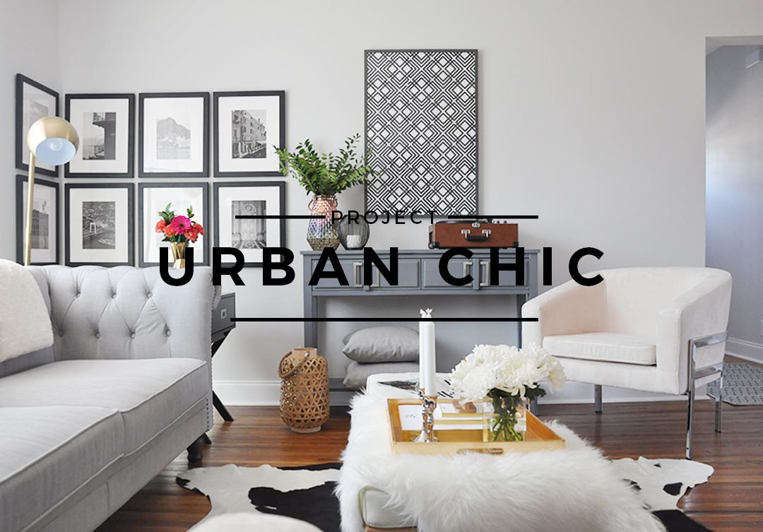 Interior Design Project Urban Chic Foxy Oxie Sitting Room