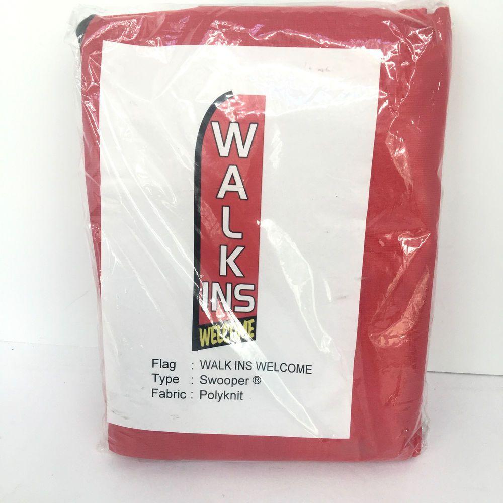 Walkins Vertical Banner Sign Advertising Flutter Swooper Flag  #UnbrandedGeneric