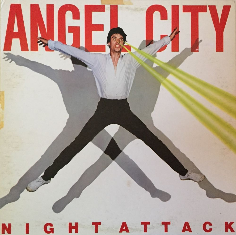 Details About THE ANGELS Angel City Night Attack LP With