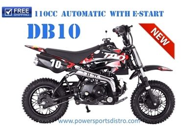 tao tao db10 110cc automatic cheap dirt bike pit bike free. Black Bedroom Furniture Sets. Home Design Ideas