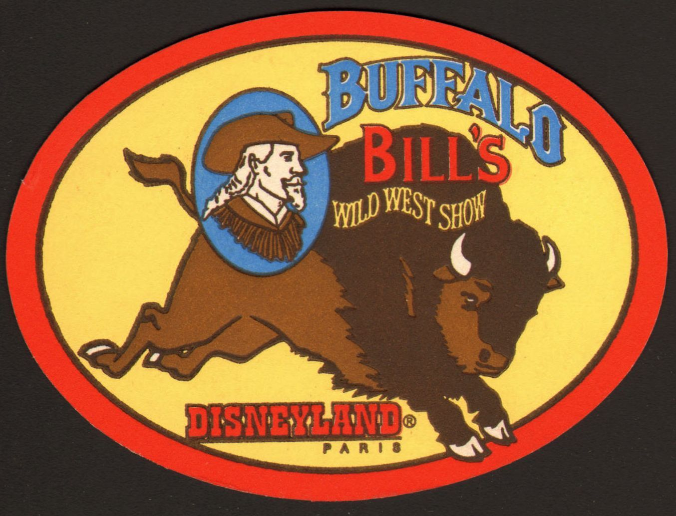 Buffalo Bill S Wild West Show Disneyland Paris Disneyland Paris Beer Coasters Wild West Show