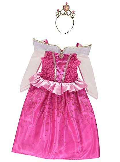 George Disney Princess Belle Childrens Girls Fancy Dress Costume Outfit Book Day