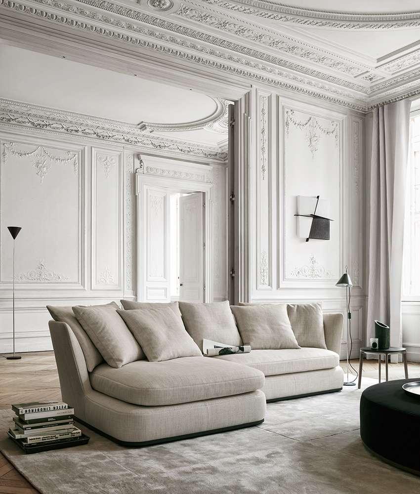 Sofa Apollo Maxalto Design By Antonio Citterio In 2020 Italian Furniture Design Citterio Interiors Classy Living Room