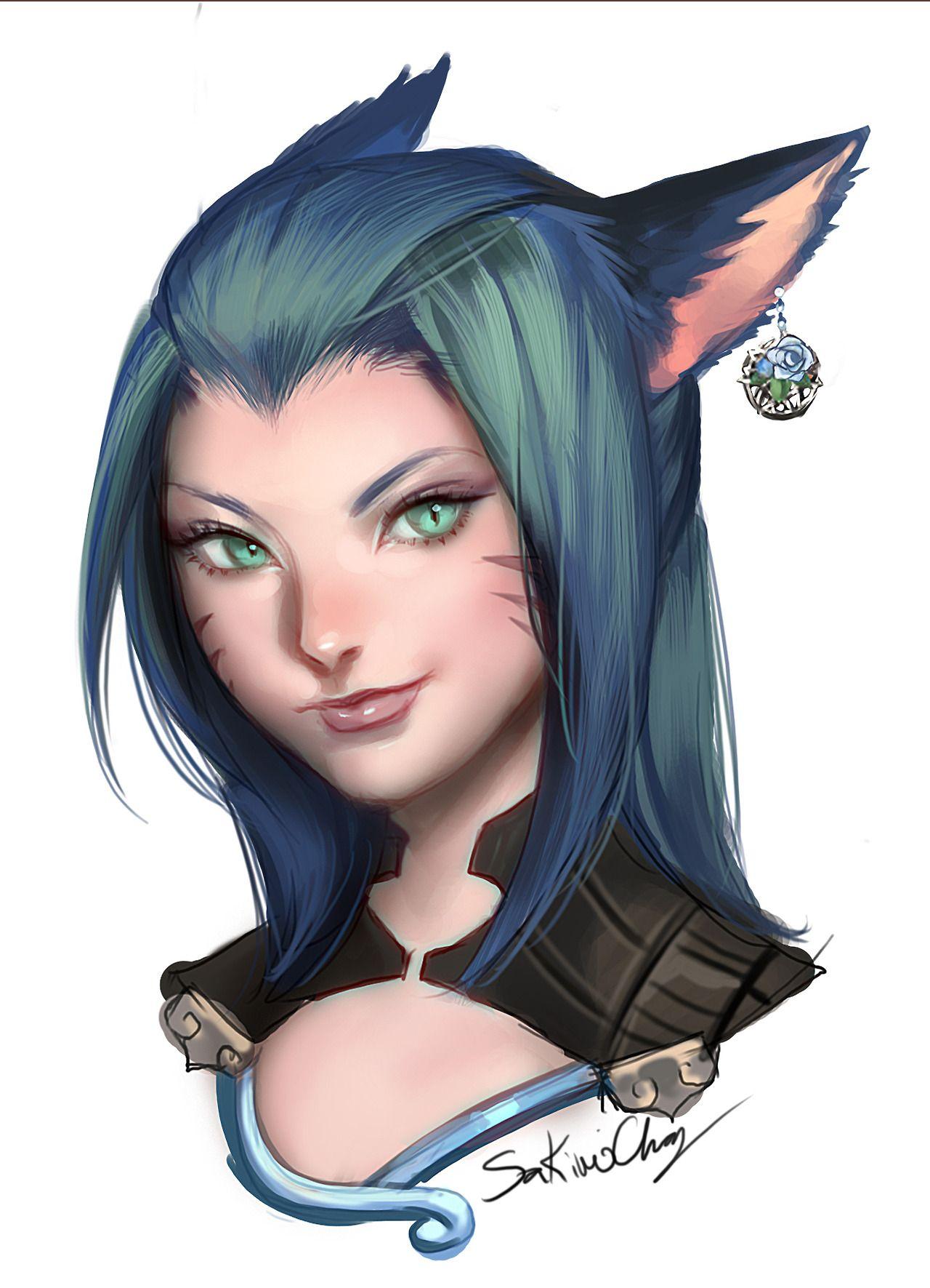 Ears Of A Cat