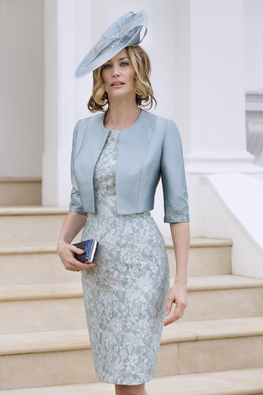 Elegantes Cocktailkleid für die Brautmutter – von John Charles ...