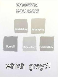Sherwin Williams Gray Versus Greige Raumfarbe Wandfarbe Farbtone Und Home Design