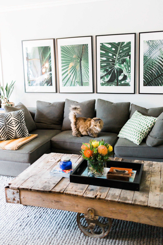 Touches Végétales Dans Un Intérieur Home Design An Decor Home