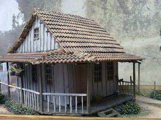 Fabiano Fausto Miniaturas Com Imagens Casa De Papelao Casas Brilhantes House