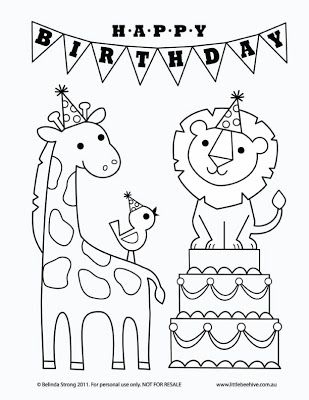 We Love To Illustrate August Free Downloadable Coloring Pages Happy Birthday Coloring Pages Birthday Coloring Pages Mom Coloring Pages