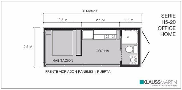 Casa minimalista en container nueva contenedores for Casa minimalista barcelona capital