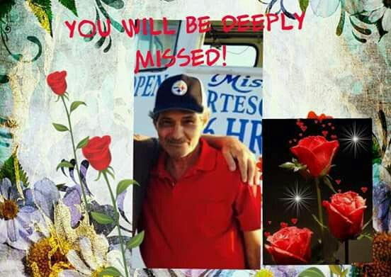 My cousin Richard Gonzalez. Gone but will never be forgotten.