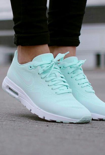 509f42286791  50 -  500 Bright Sky Blue Green Turquoise Summer Nike Sneakers Running  Shoes Summer Spring Shoe Trends