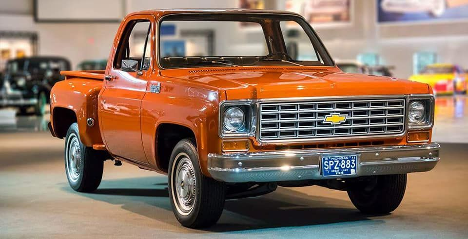 1975 Chevrolet C10 With Images Chevy Stepside Chevy C10
