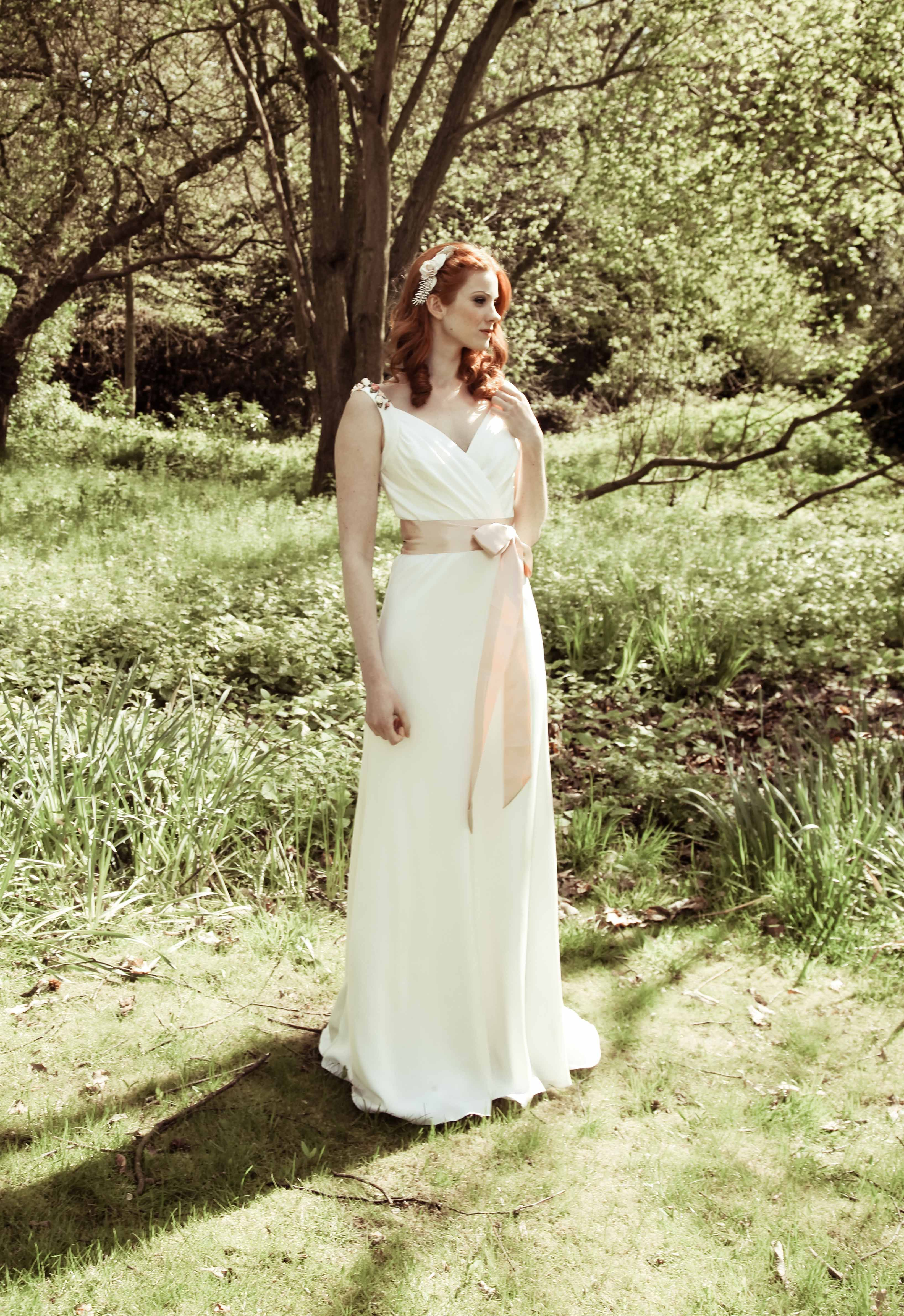 Pheobe. from the Mae Collection by Johanna Hehir. Available at 'The Case of the Curious Bride' boutique.