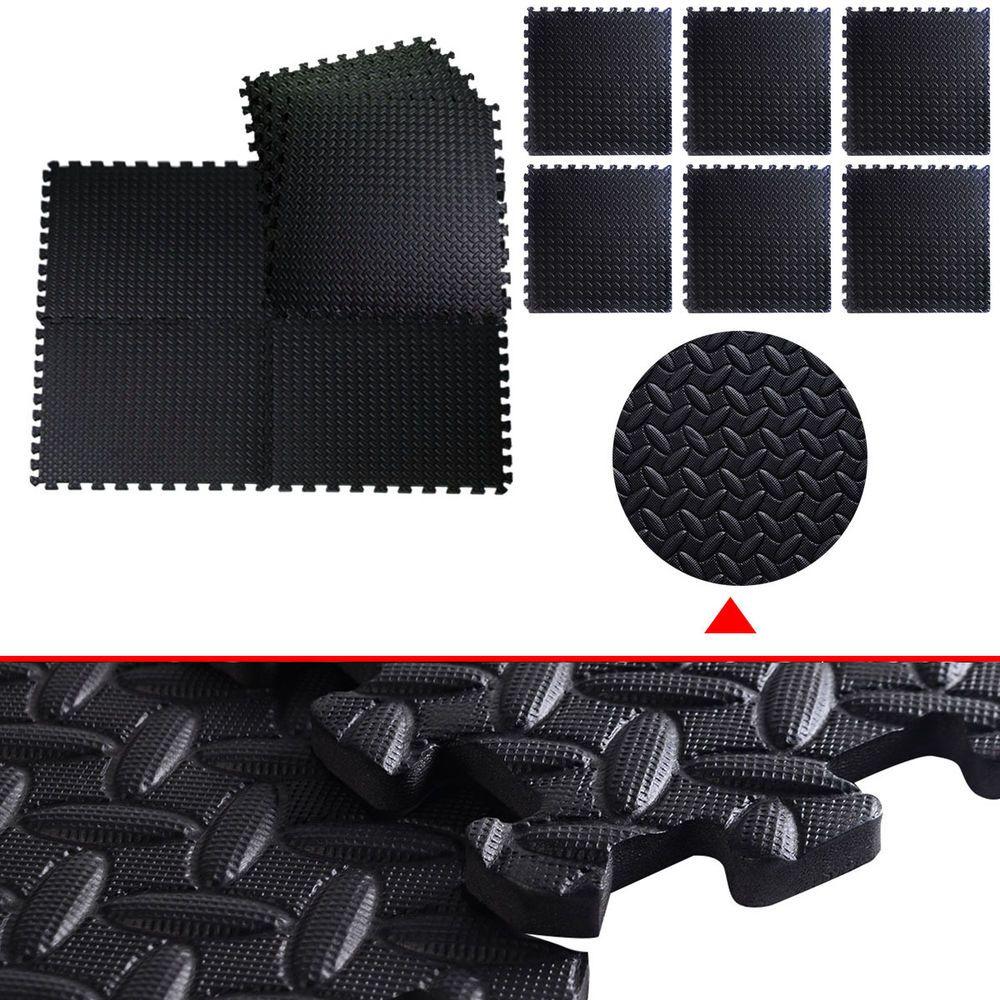 GOPLUS 48 Sq Ft EVA Foam Floor Interlocking Mat Show Floor