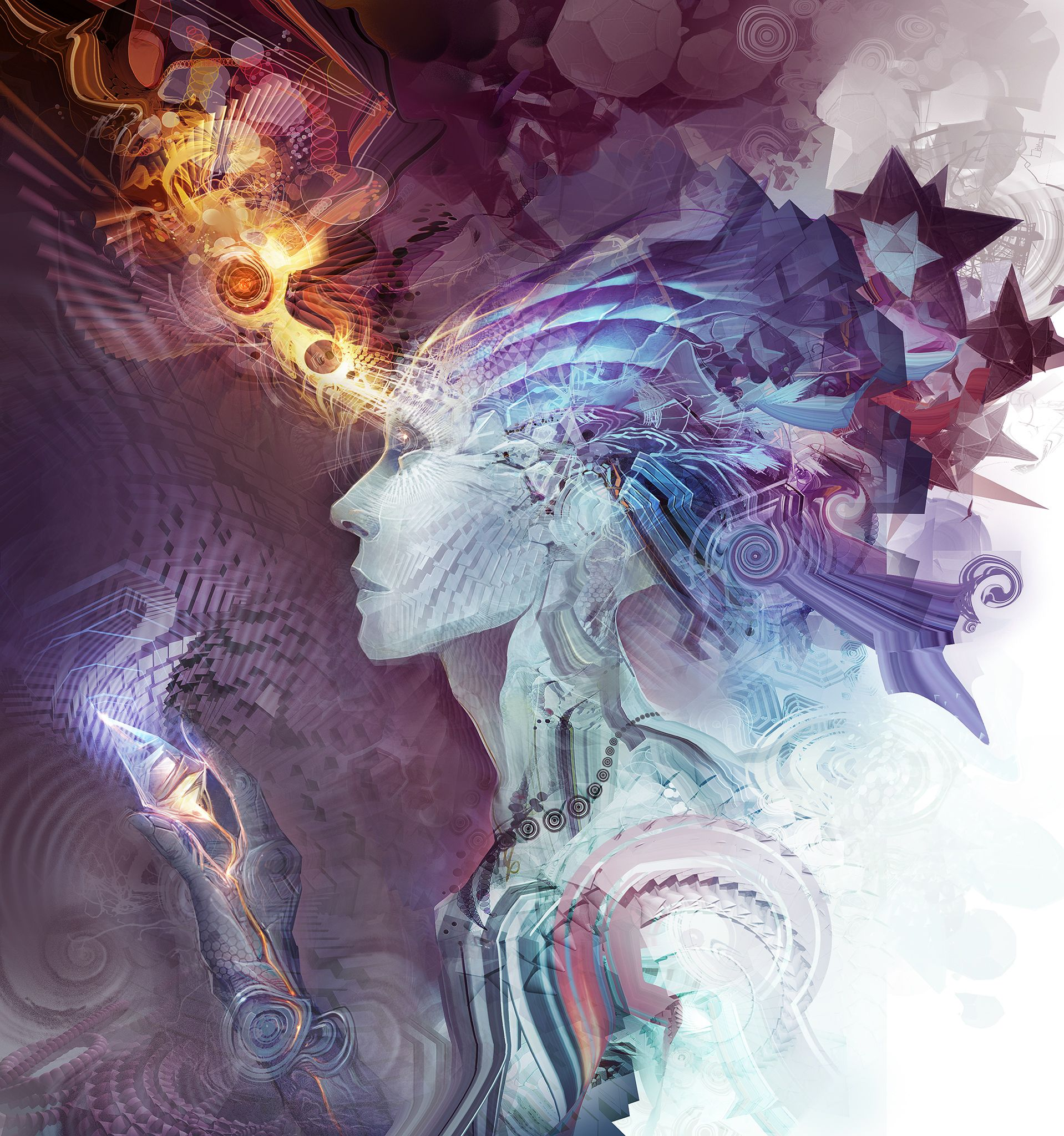 Psychedelic Wallpaper Android: Interdimensional Phades