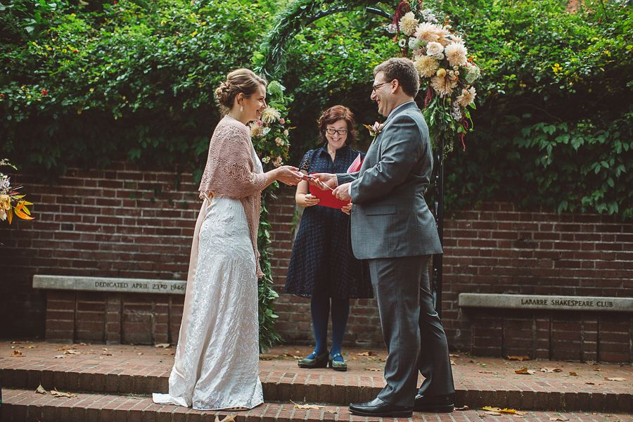 Portland International Rose Test Garden Wedding