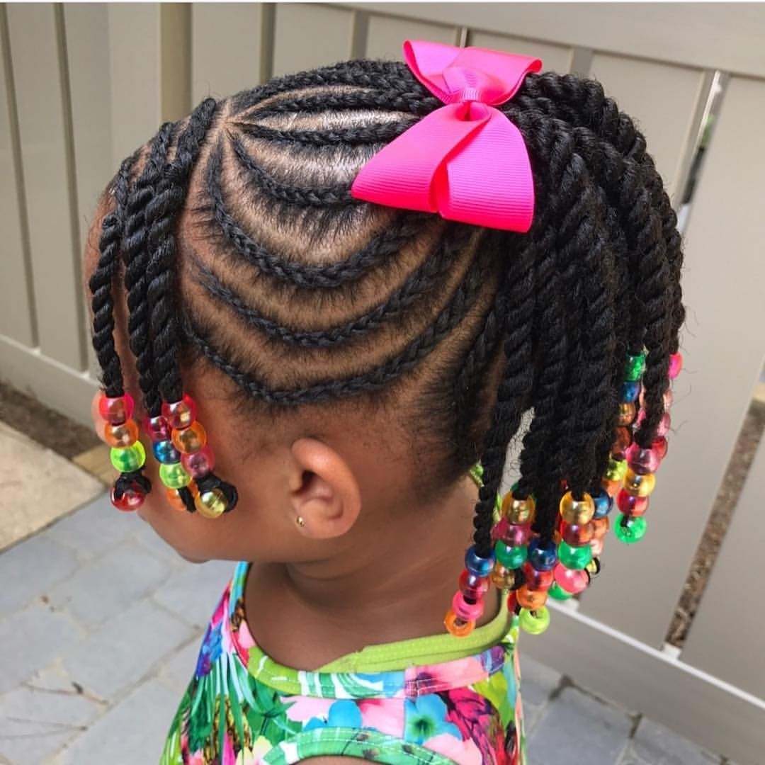 Black Little Girls Hair Styles Hair Style Girl Black Style Hairstylegirl Lil Girl Hairstyles Kids Braided Hairstyles Girls Hairstyles Braids
