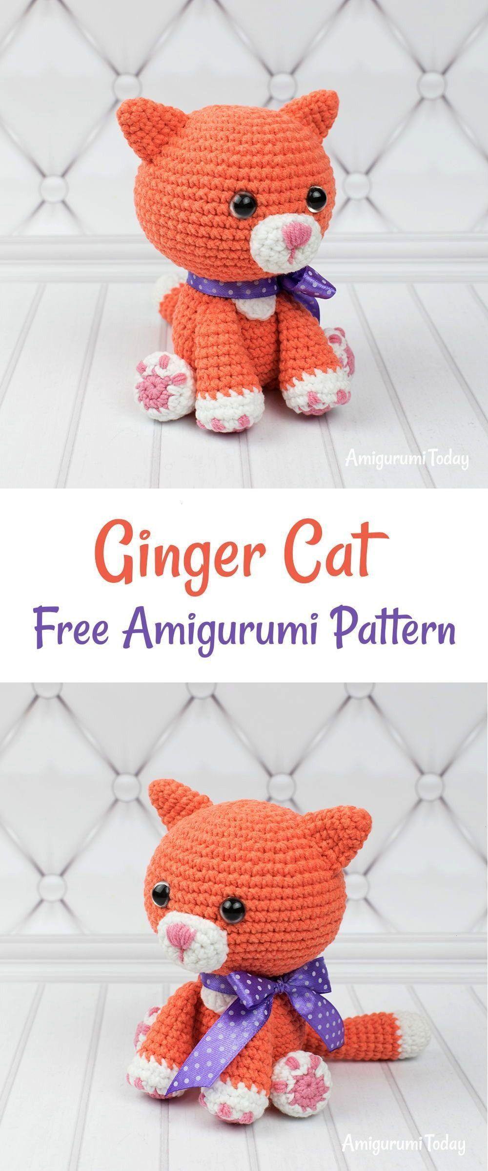 Amigurumipattern Amigurumi Pattern Ginger Today Cat Pginger
