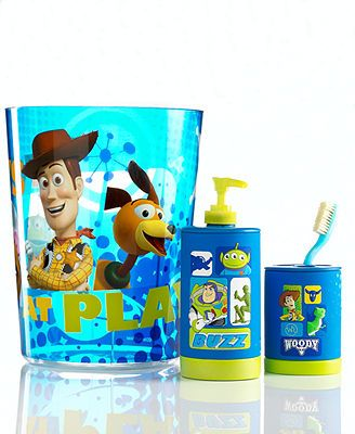 Disney Bath Accessories Toy Story Collection