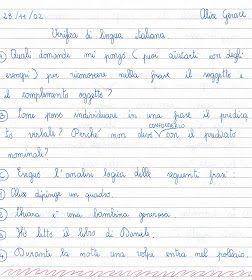 Didattica scuola primaria verifica di analisi logica per la classe quinta soggetto predicato - Diversi analisi grammaticale ...