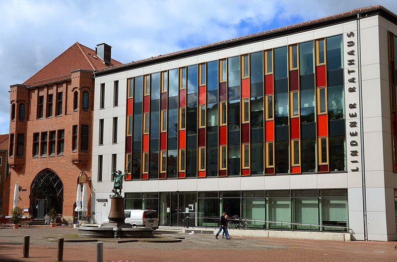 Hannover Linden Das Neue Lindener Rathaus Lindener Marktplatz Hannover Rathaus Wolfsburg