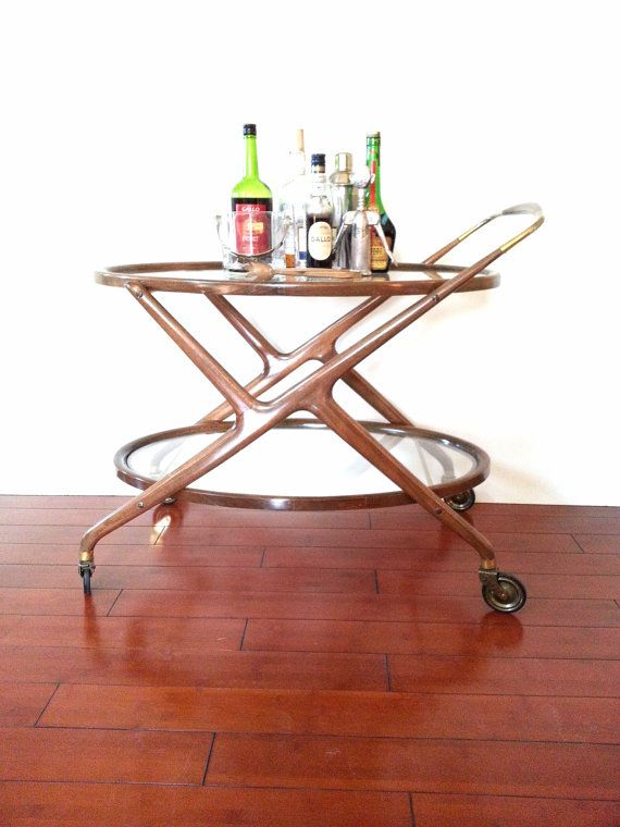 Sold Do Not Italian Bar Cart Tea Trolley Vintage Cesare Lacca Danish