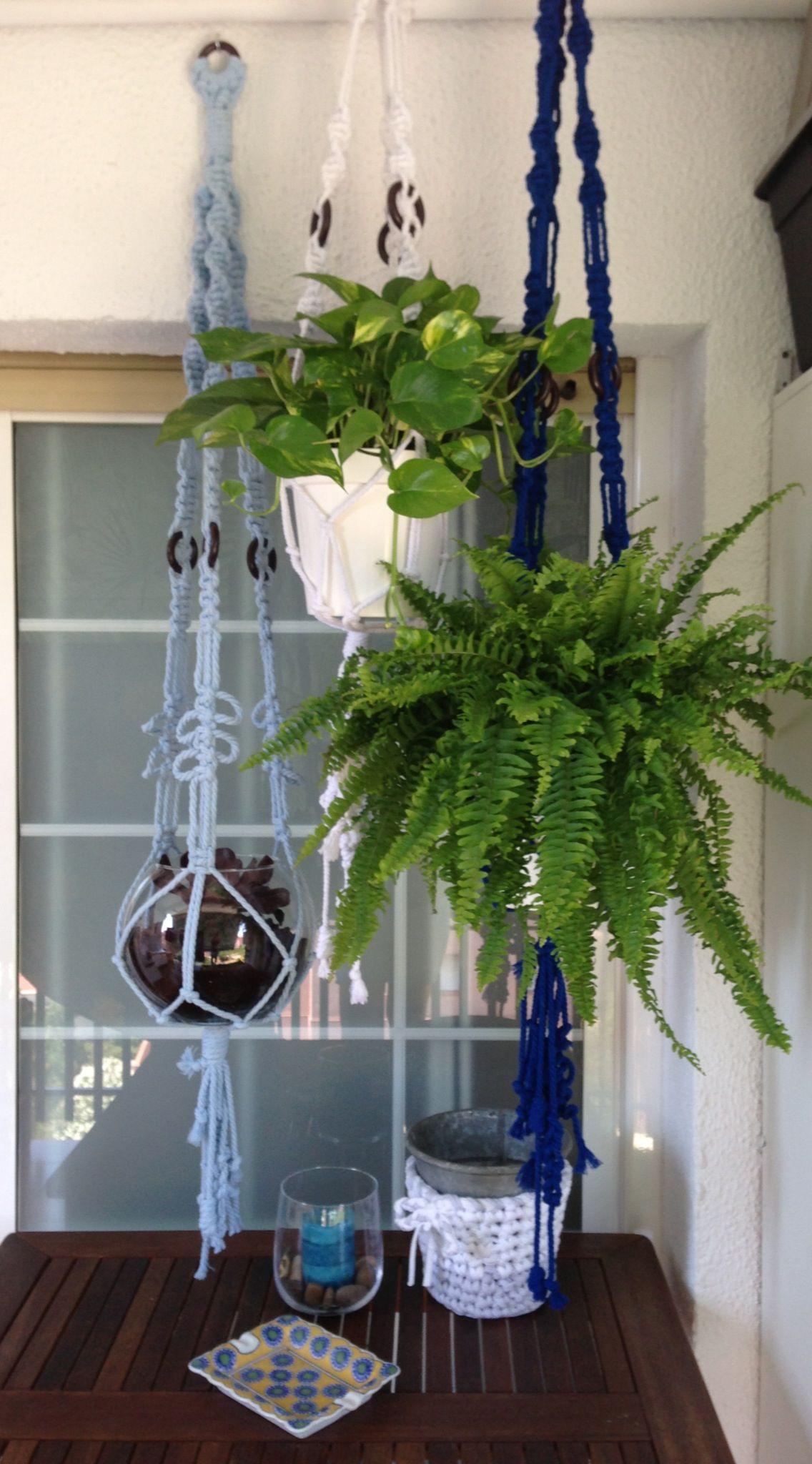 Delle macrame macrame plant hanger plant hanger macrame