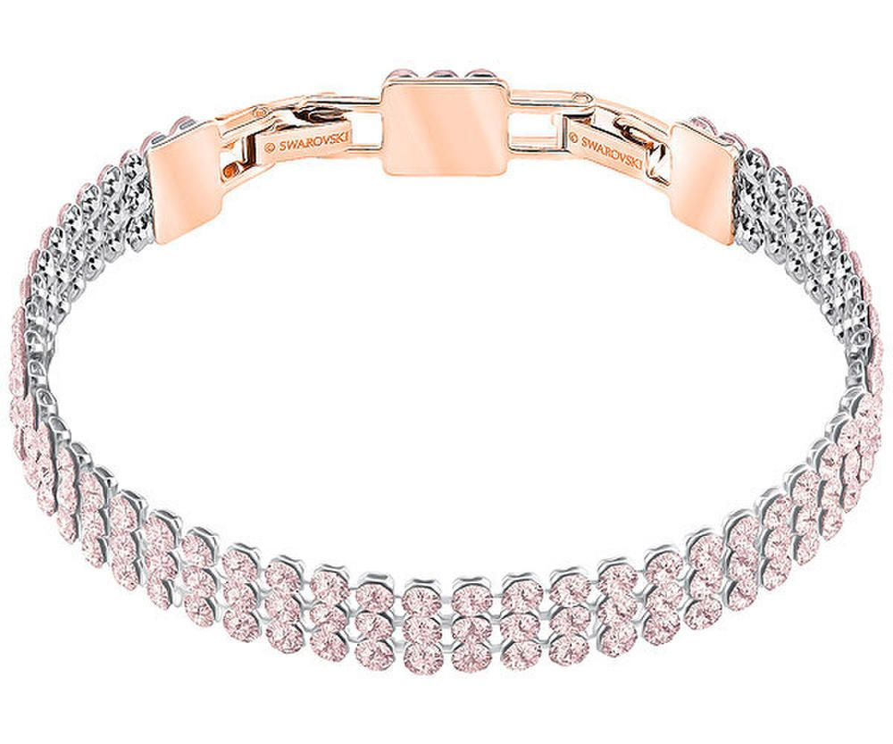 c3b7afef72037 $125 Swarovski Fit Bracelet - Pink - Rose Gold Plating - 5381139 ...