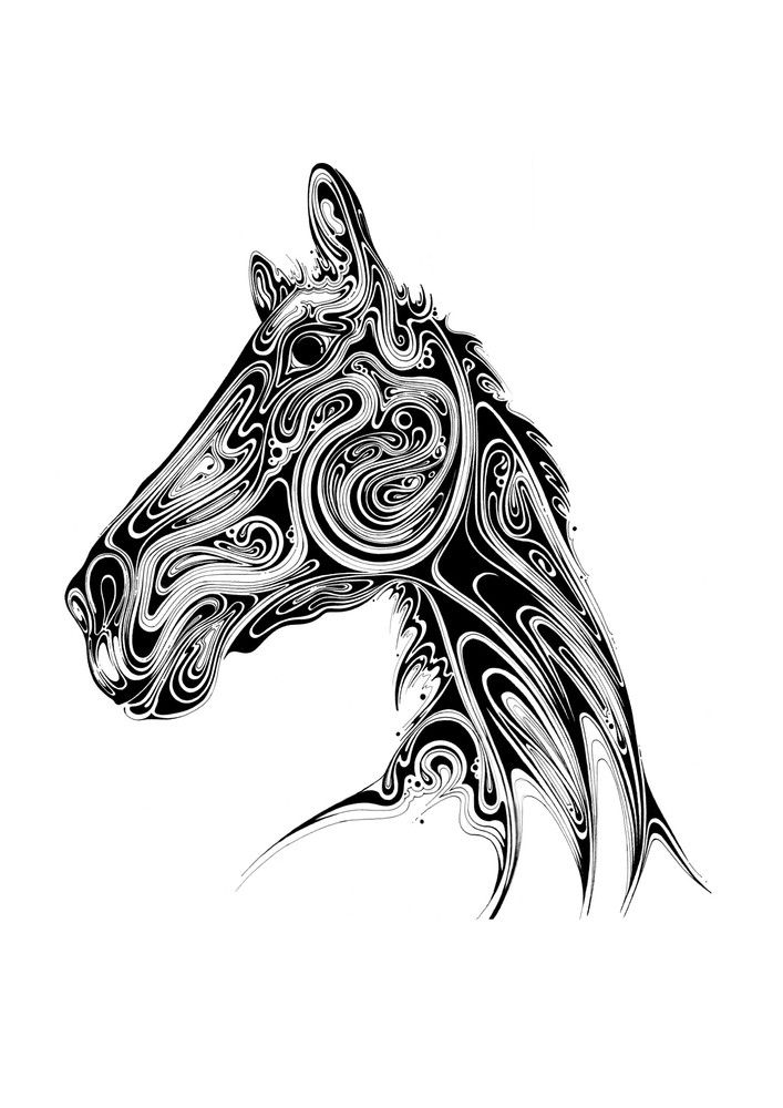 Si Scott - Google Search | Si scott, Sharpie art, Horse art