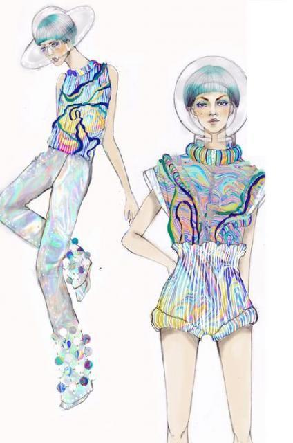 Photo of 38 Ideas Fashion Illustration Sketches Portfolio Sketchbook Pages