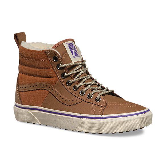 Hana Beaman SK8 Hi 46 MTE | Vans winter shoes, Mens high top