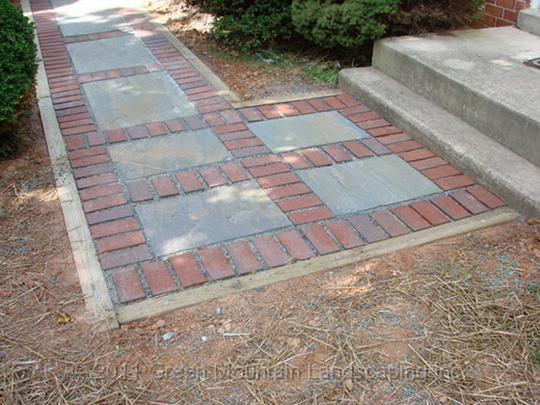 JPG   Dry Install (stone Dust)Brick And Flagstone WalkwayDarnestown, MD