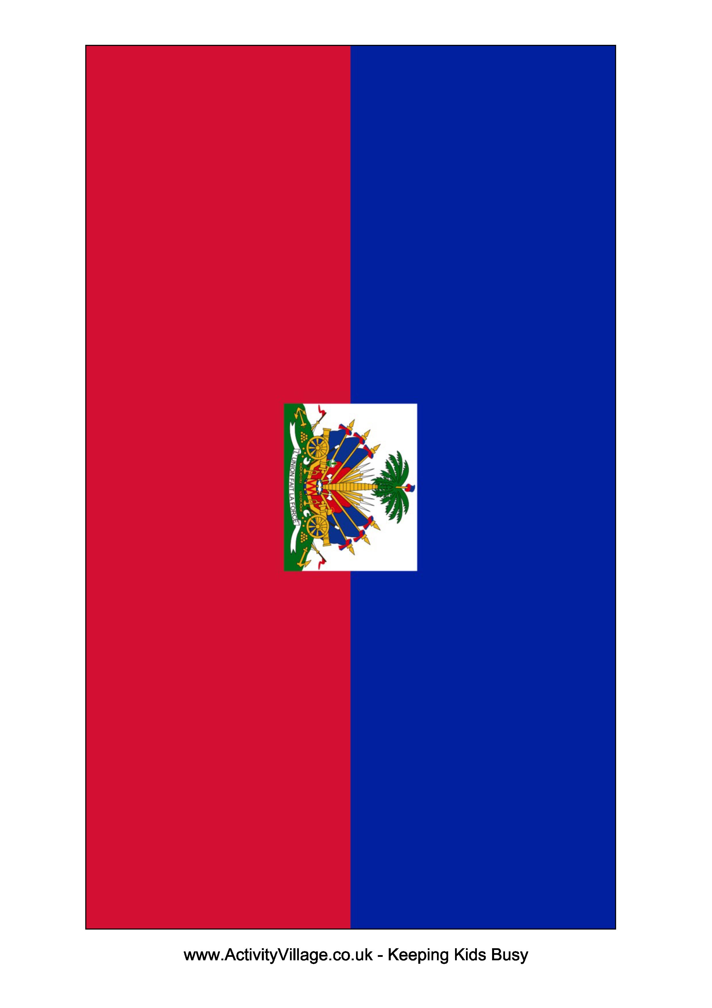 Haiti Flag Free Printable Haiti Flag Flag Template Haiti Flag Templates