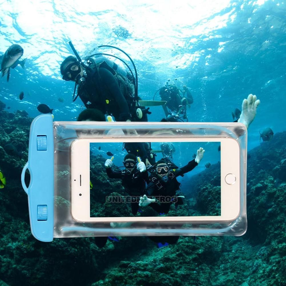 new style d0f81 e4310 2.31AUD - Luminous Underwater Waterproof Phone Pouch Dry Bag Case ...